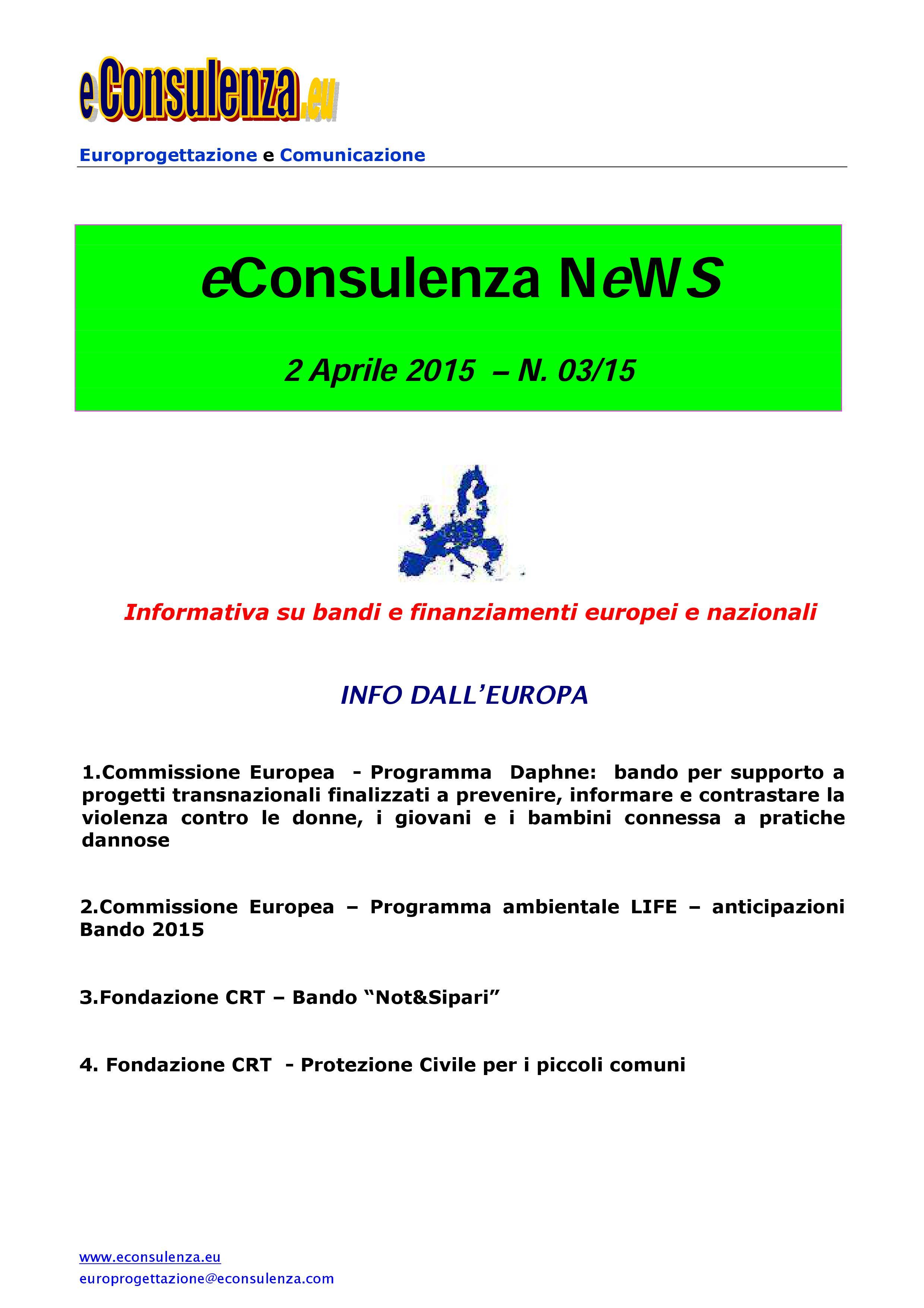 eC NeWs 03/15