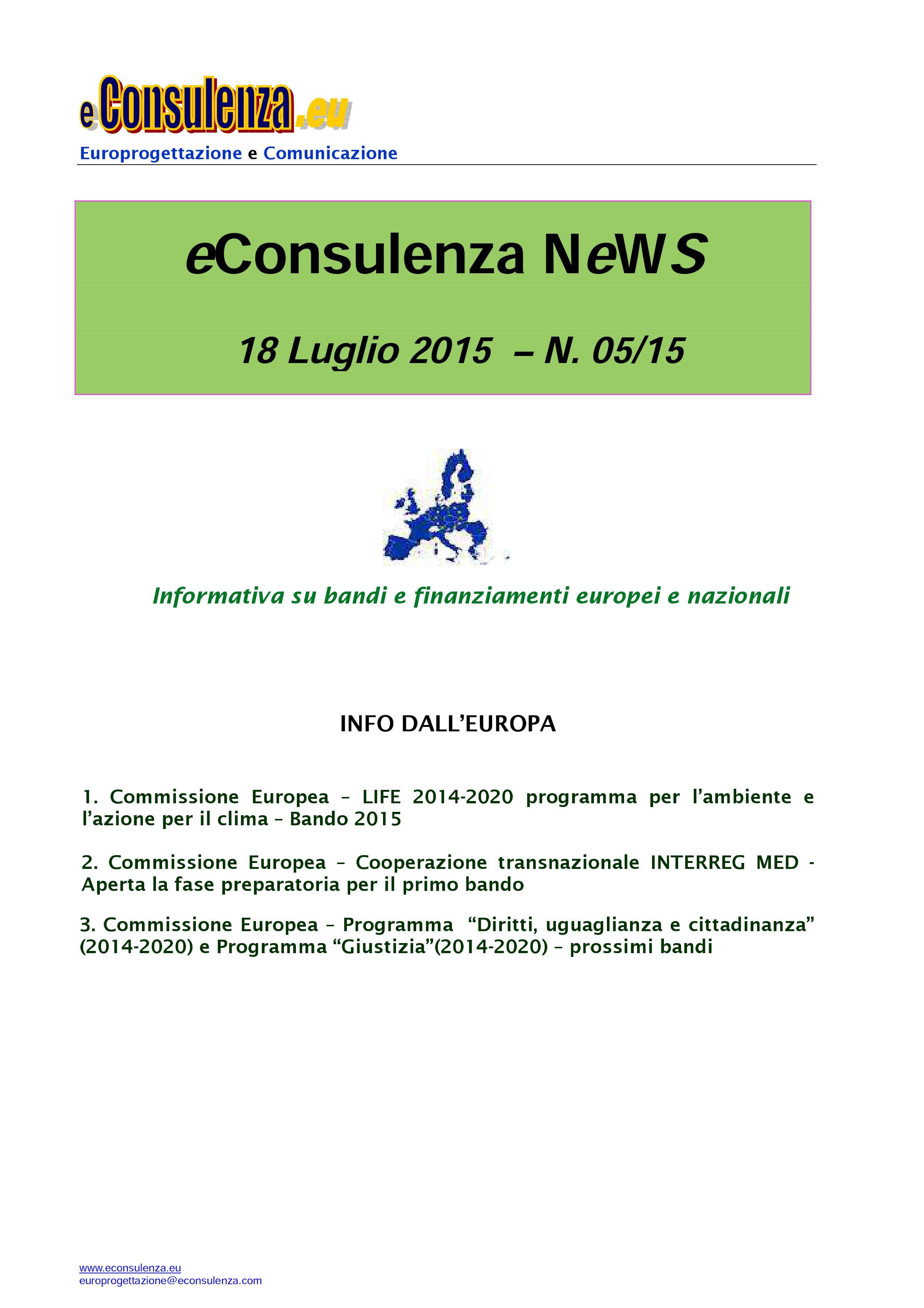 eC NeWs 05/15