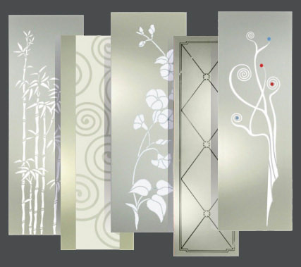 Easy glass vetraio roma vetri roma nord - Porte a vetri decorate ...