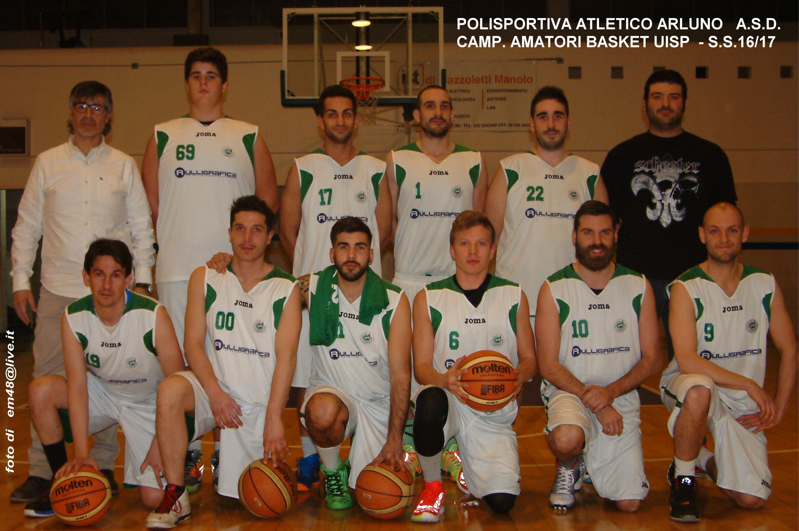 Uisp Basket Milano Calendario.Basket Uisp Amatori 16 17