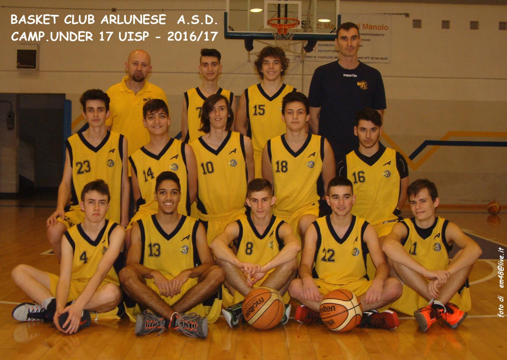 Uisp Basket Milano Calendario.Under 17 Uisp 16 17