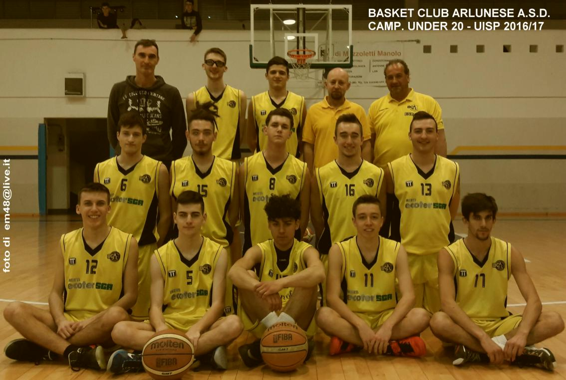 Uisp Basket Milano Calendario.Under 20 Uisp 16 17