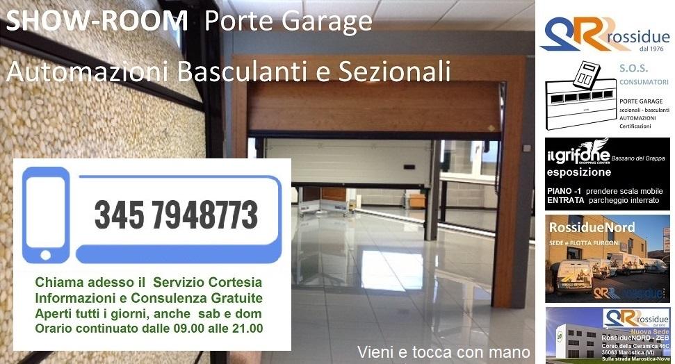 Portoni per garage for Planimetrie della casa del garage