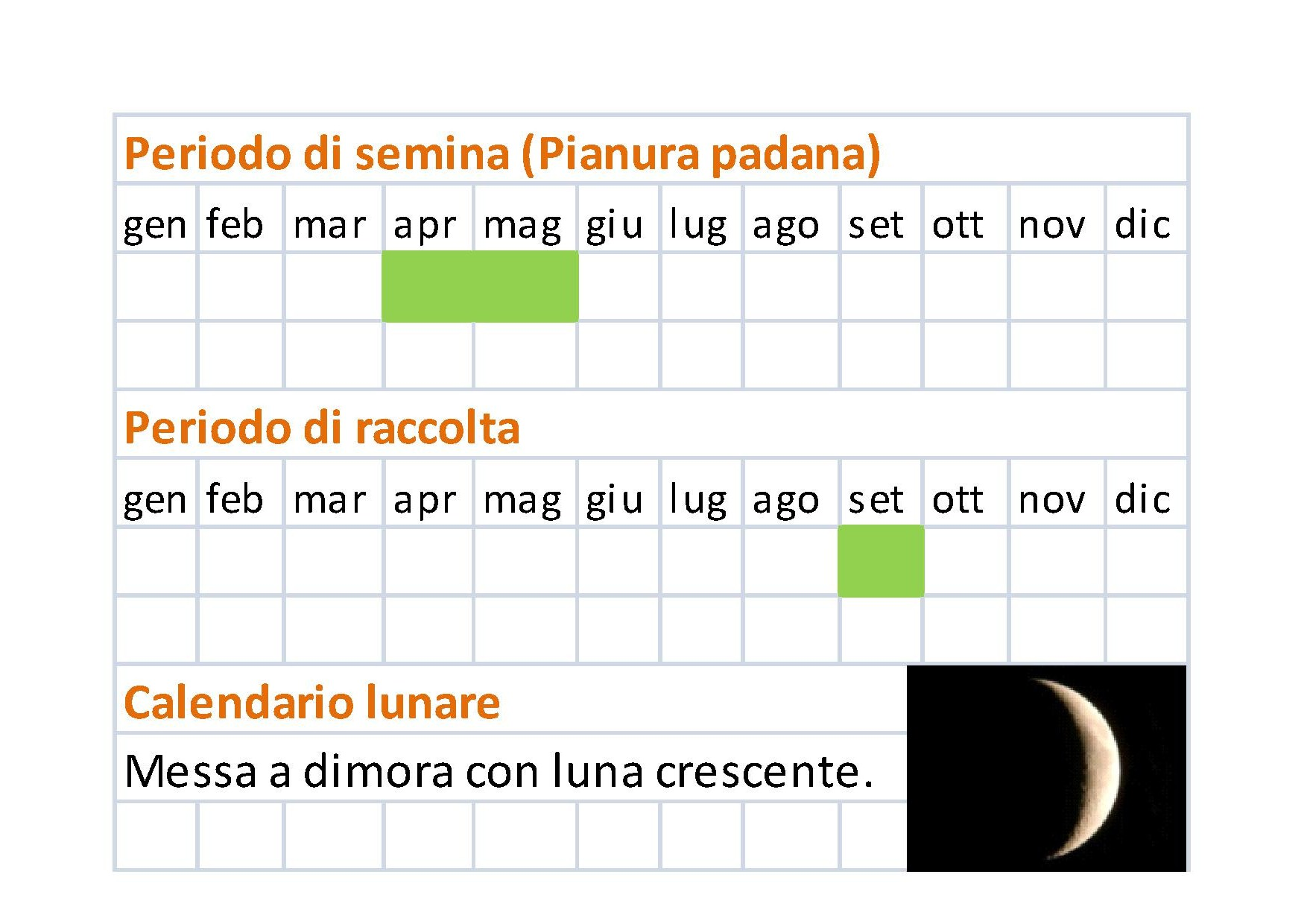 Calendario Di Semina.Come Coltivare La Zucca