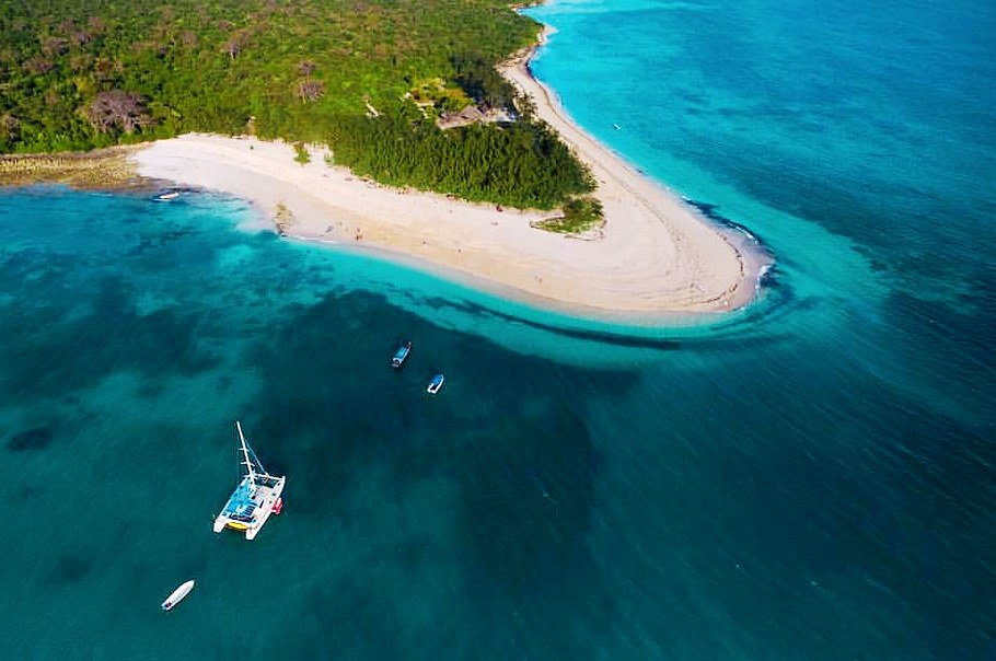 how to get to mbudya island