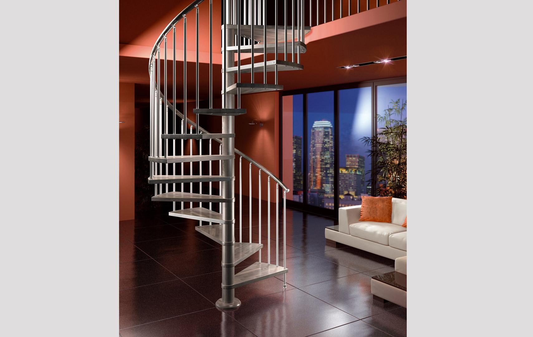 Casaloft scale a chiocciola for Casa moderna immobiliare foligno