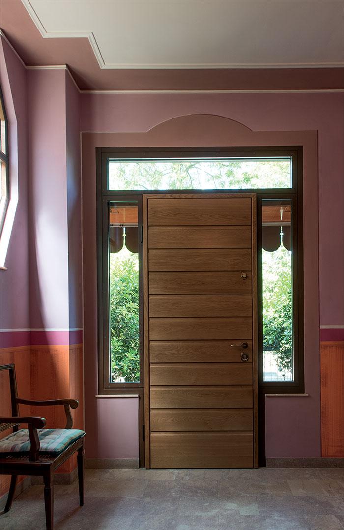 Casaloft infissi scale parquet sezionali porte blindate - Porta finestra blindata ...