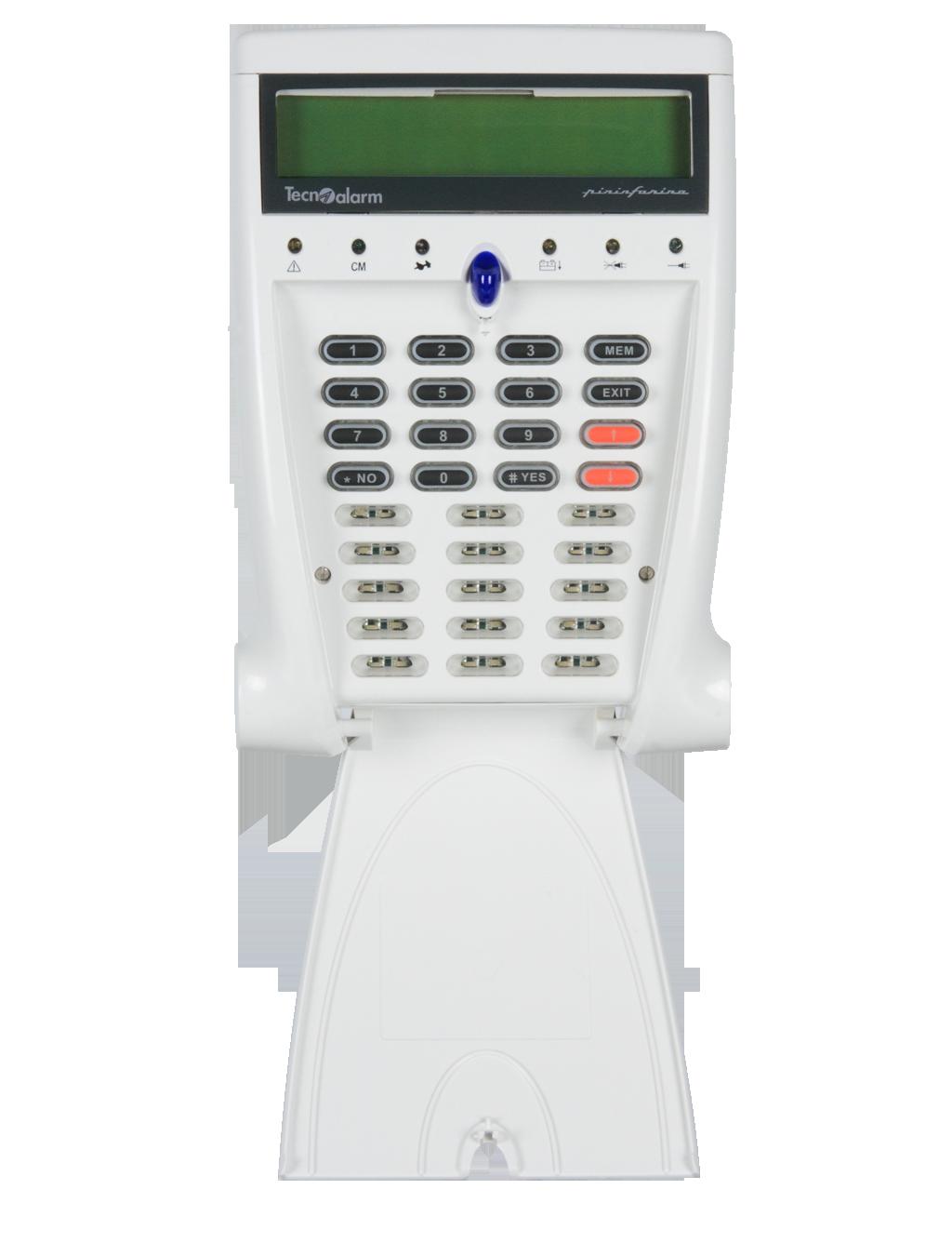 Tastiera LCD con Sintesi Vocale