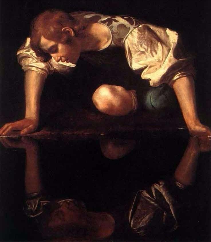 Narciso. Caravaggio