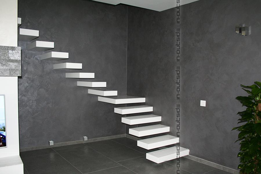 Realizzazione sempre su misura di scale interne e esterne - Alzata scale interne ...