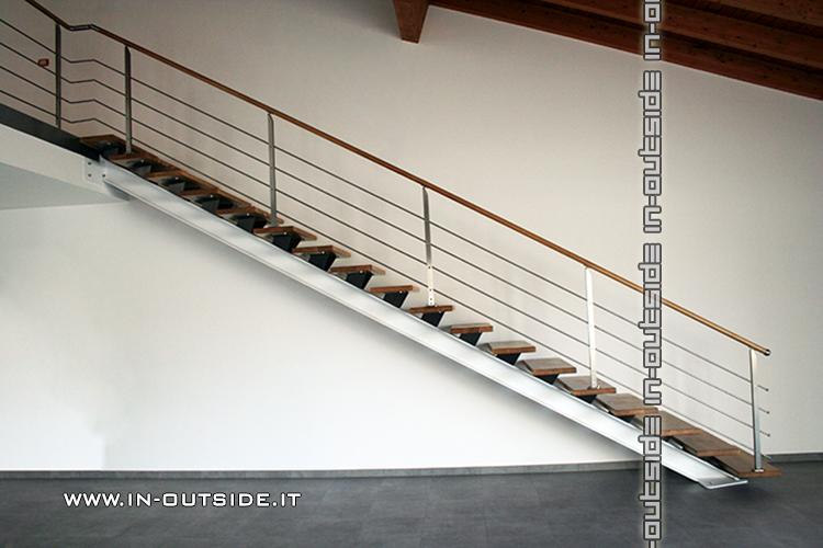 Realizzazione sempre su misura di scale interne e esterne a rampa e a chicciola coperture e - Scale a rampa ...