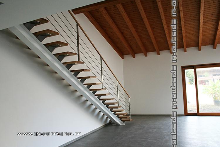 Realizzazione sempre su misura di scale interne e esterne - Corrimano scale esterne ...