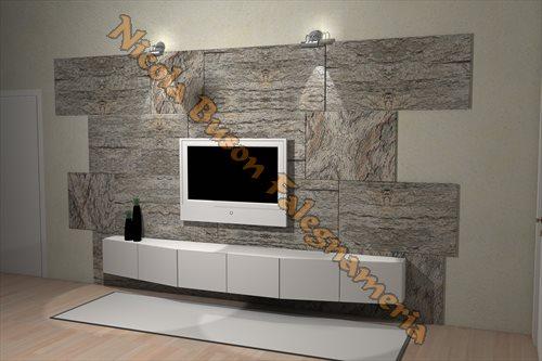 Beautiful Parete Pietra Soggiorno Photos - Home Design Ideas 2017 ...