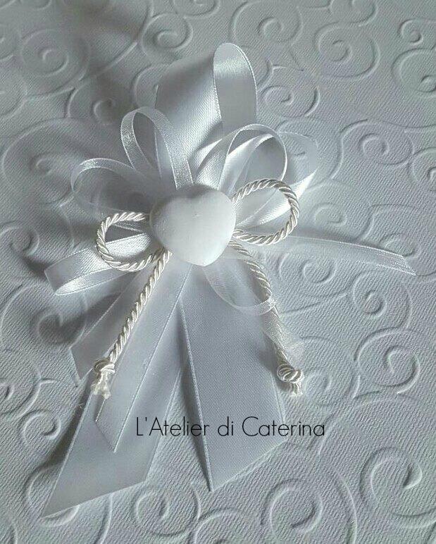 Segnaposto Matrimonio Azzurro : Sacchetto segnaposto ringraziamento in tessuto cm color