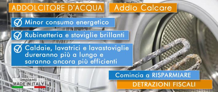 Trattamento acqua addolcitori - Addolcitore acqua casa ...