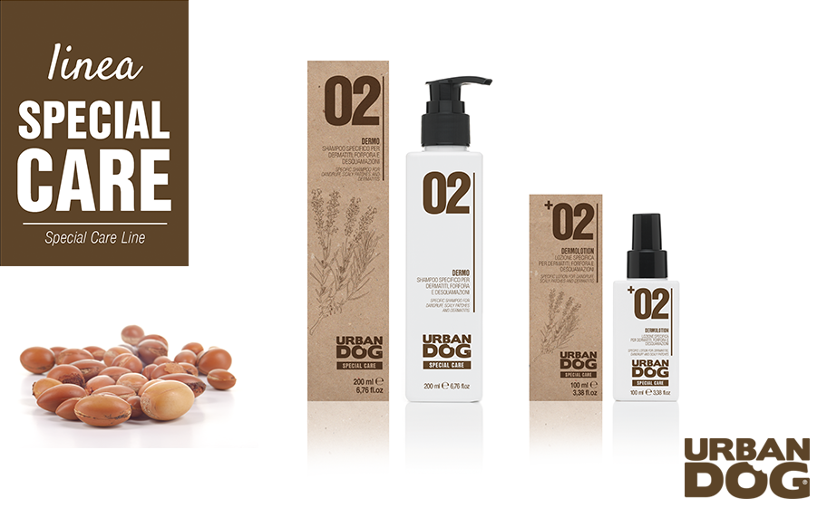 02 DERMO SHAMPOO e 02 DERMOLOTION di URBAN DOG