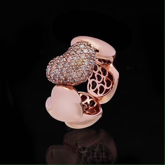 Pink Gold 18k g. 4,90 -DBW Ct. 0,90 € 3.025,00