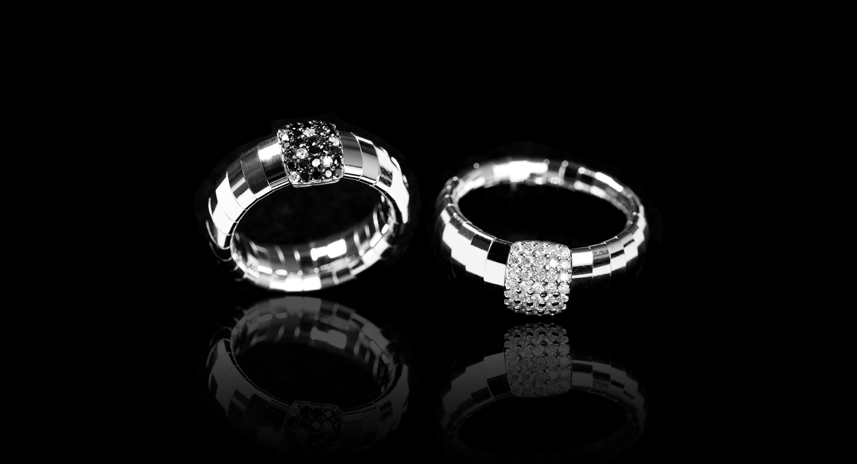 White Gold 18k g 4,90 -DN Ct. 0,45 -DB Ct. 0,10