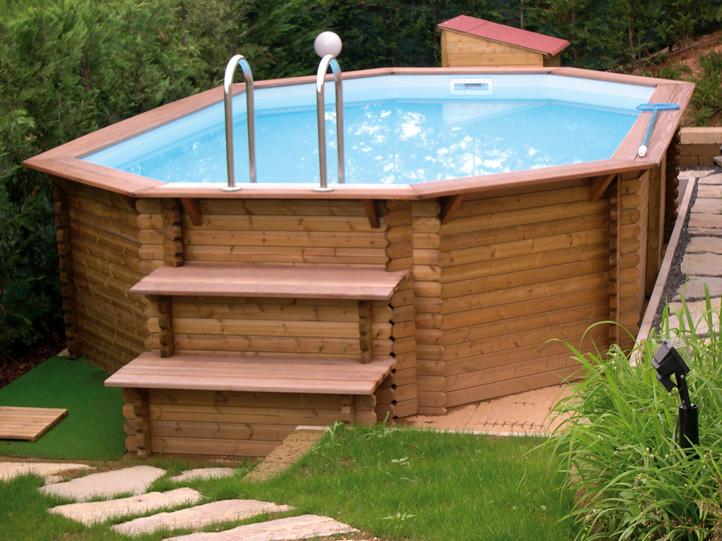 Solarium e pavimentazioni per piscine in legno - Zauner