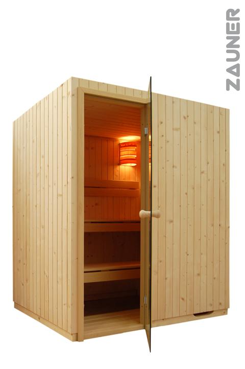 Sauna temi pensata per la casa temi realizzata con le - Costo sauna per casa ...