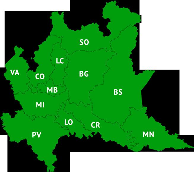 Regione Lombardia Cartina Politica.Home Page