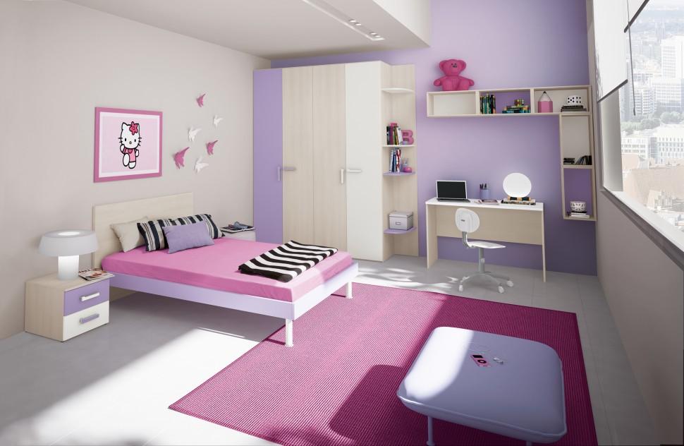 Camere Da Letto Ragazze Moderne : Camere da letto singole moderne. i mini sono bilocali di circa mq