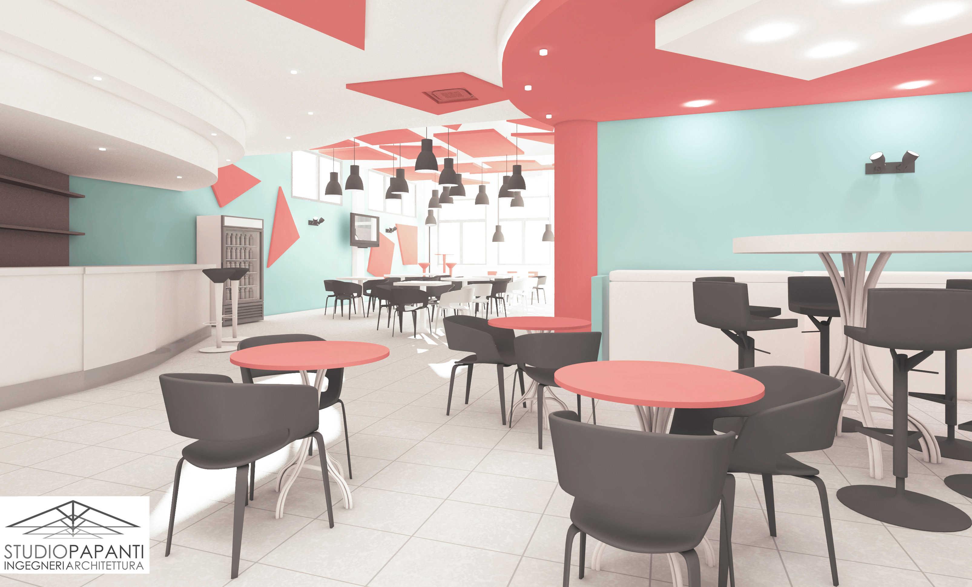 Riqualificazione interni bar ristorante