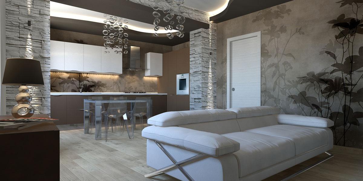 Interior design e arredamenti moderni geometrie abitative for Esempi di arredamento