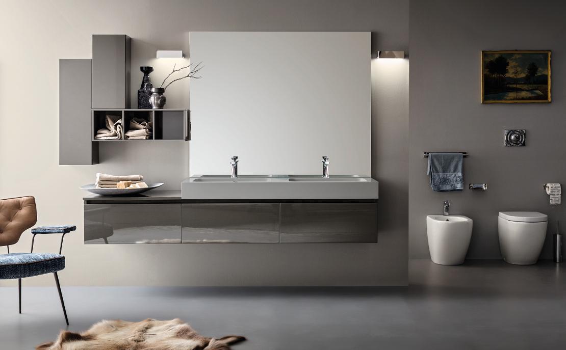 idee per bagno shabby tags » idee per bagno shabby vasca da bagno ... - Bagni Moderni Verdi