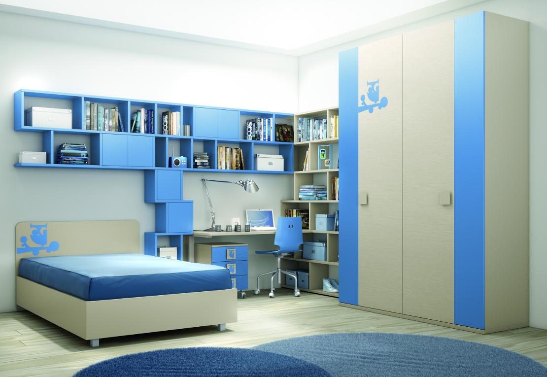 Armadio a ponte design - Librerie per camerette bambini ...