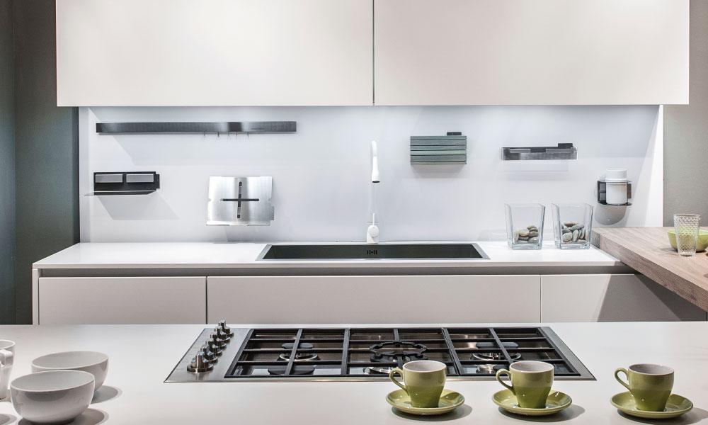 I nostri piani di lavoro - Schienale cucina in vetro temperato ...