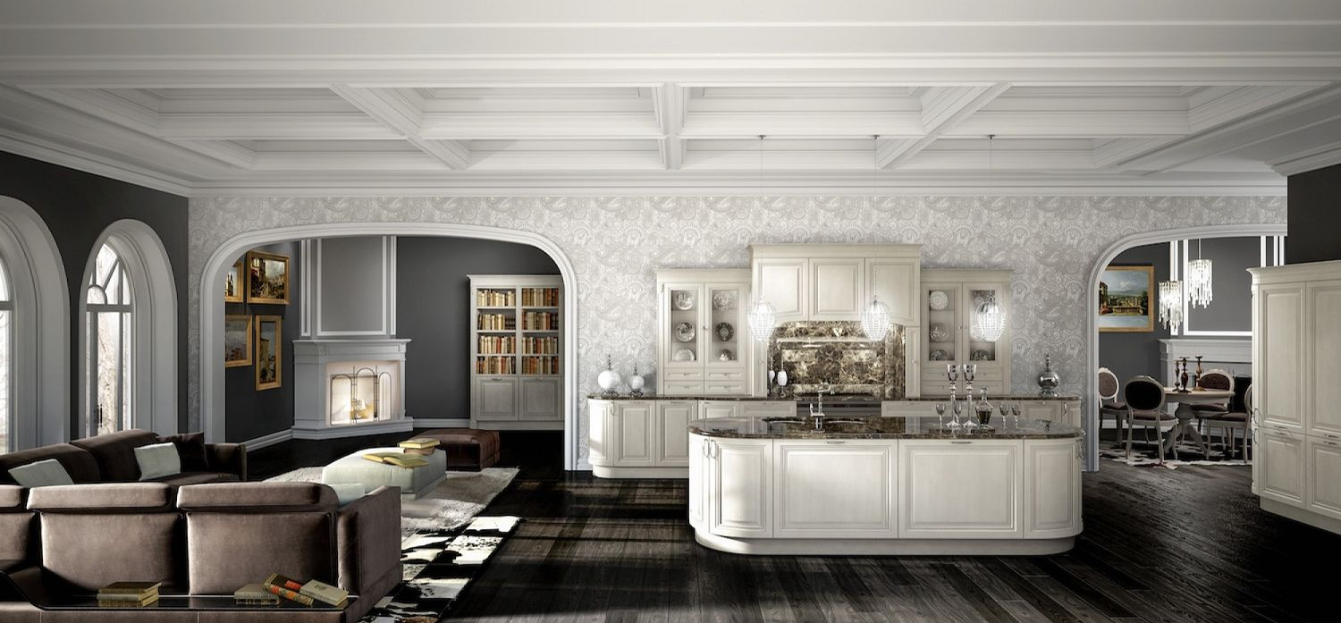 Stunning Salone Cucina Unico Ambiente Pictures - bakeroffroad.us ...