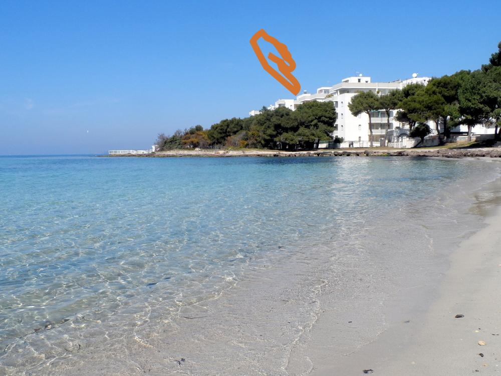 Appartamenti sul mare gallipoli la spiaggia sotto casa - La finestra sul mare gallipoli ...