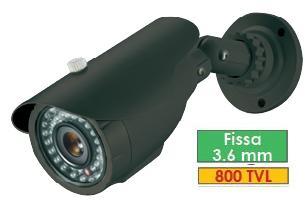 SECURHOUSE TELECAMERE COMPATTE BULLET BIR 98 FDNG
