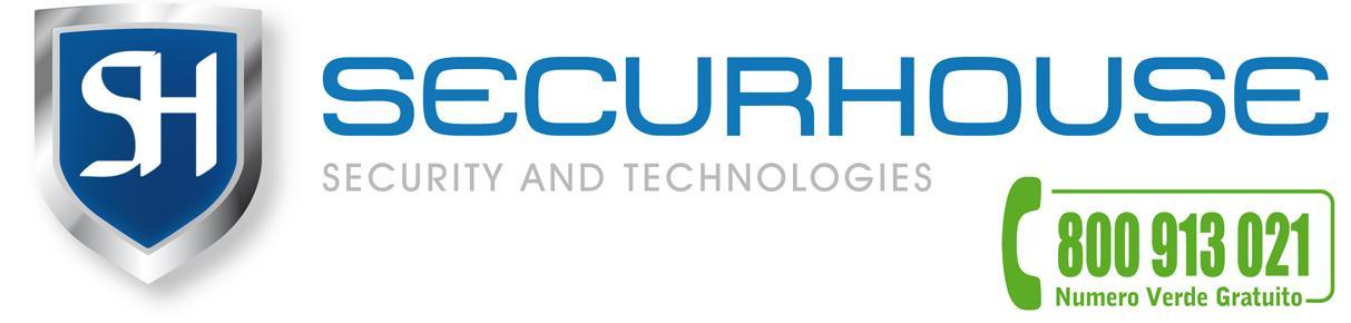 Securhouse Roma Logo Numero Verde
