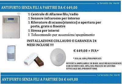 Securhouse Offerta Sydra 64 Senza Fili Via Radio Wireless