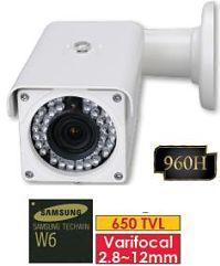 SECURHOUSE TELECAMERE COMPATTE BULLET P90 IR 960H
