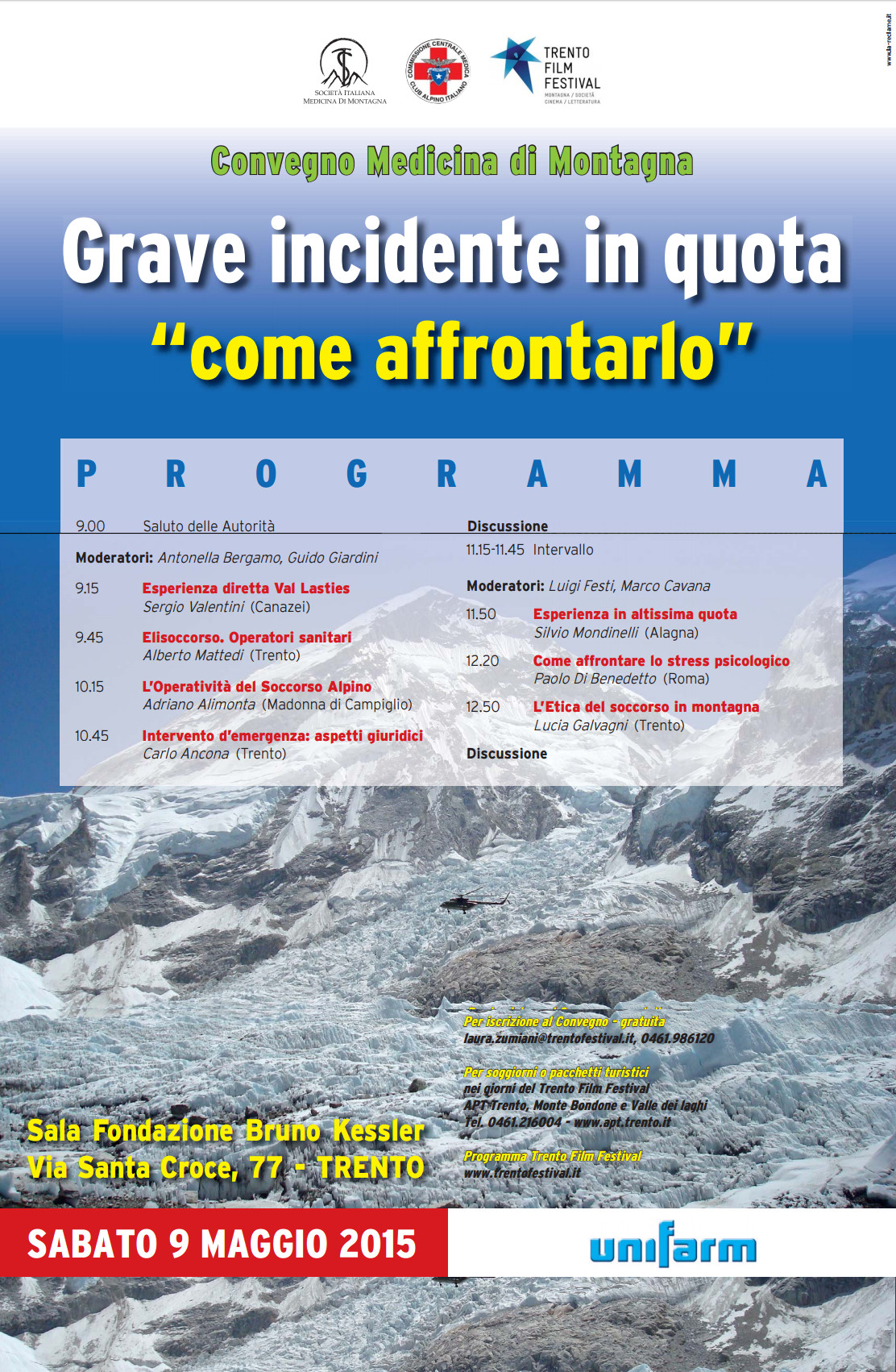 congresso GRAVE INCIDENTE IN QUOTA