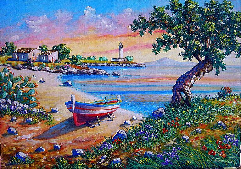 Quadri vendita dipinti quadri di paesaggi quadripaesaggi it for Quadri contemporanei