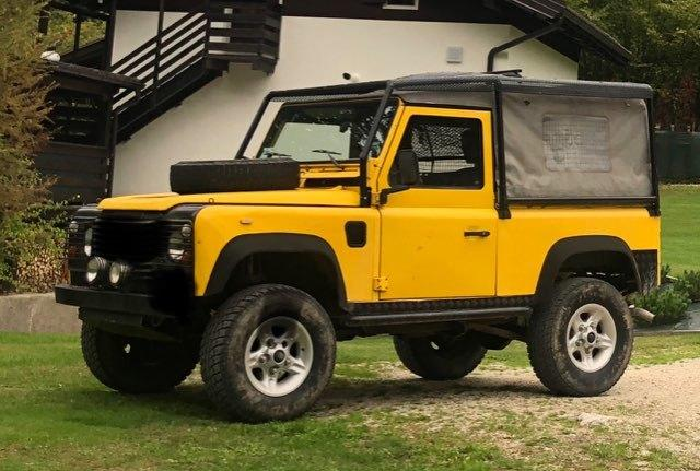 1991 LAND ROVER DEFENDER SOFT TOP LHD