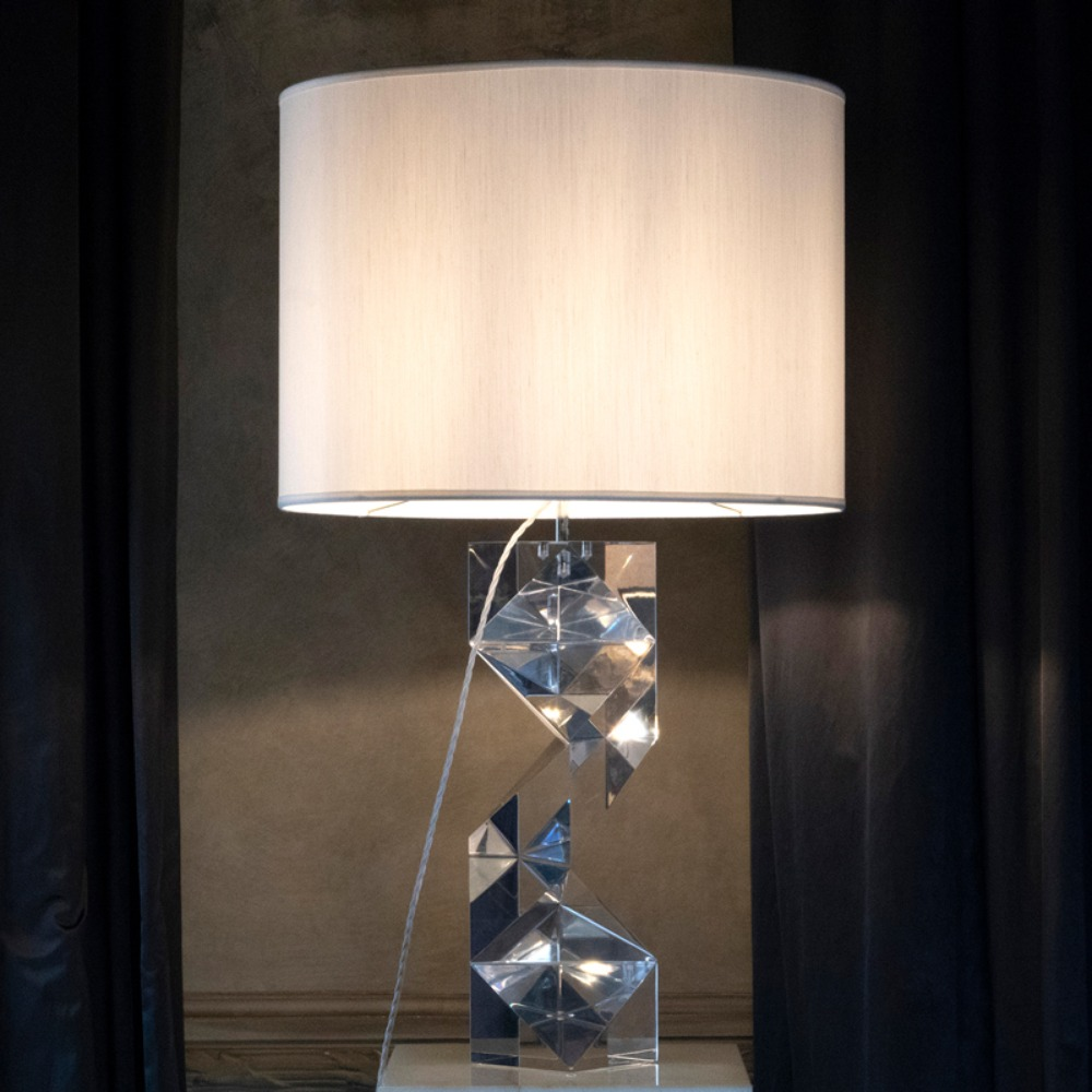 ''Romboid'' Table Lamp