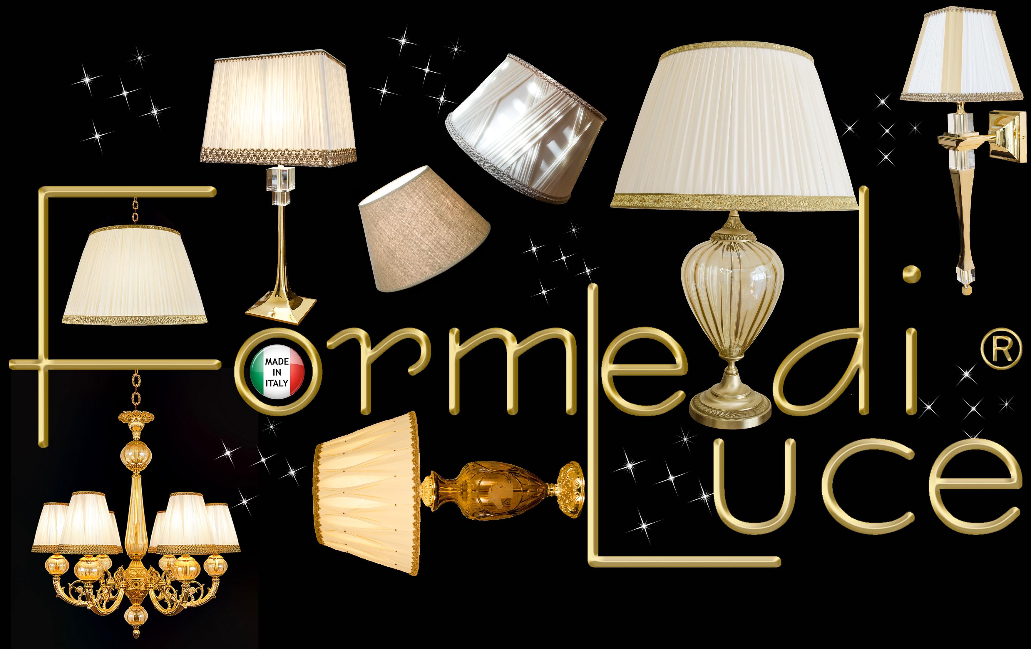 Forme di Luce | Produzione e Vendita Paralumi e Lampade a Roma