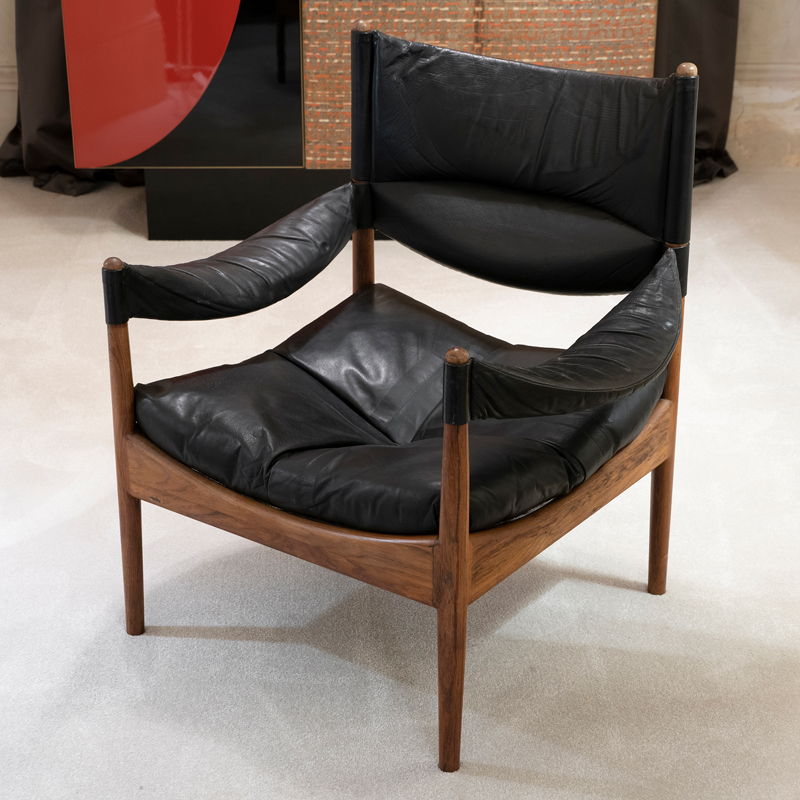 Lounge Chairs by Kristian Vedel made by Søren Willadsen, 1963