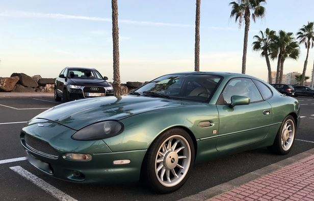 1997 ASTON MARTIN DB7 USA LHD