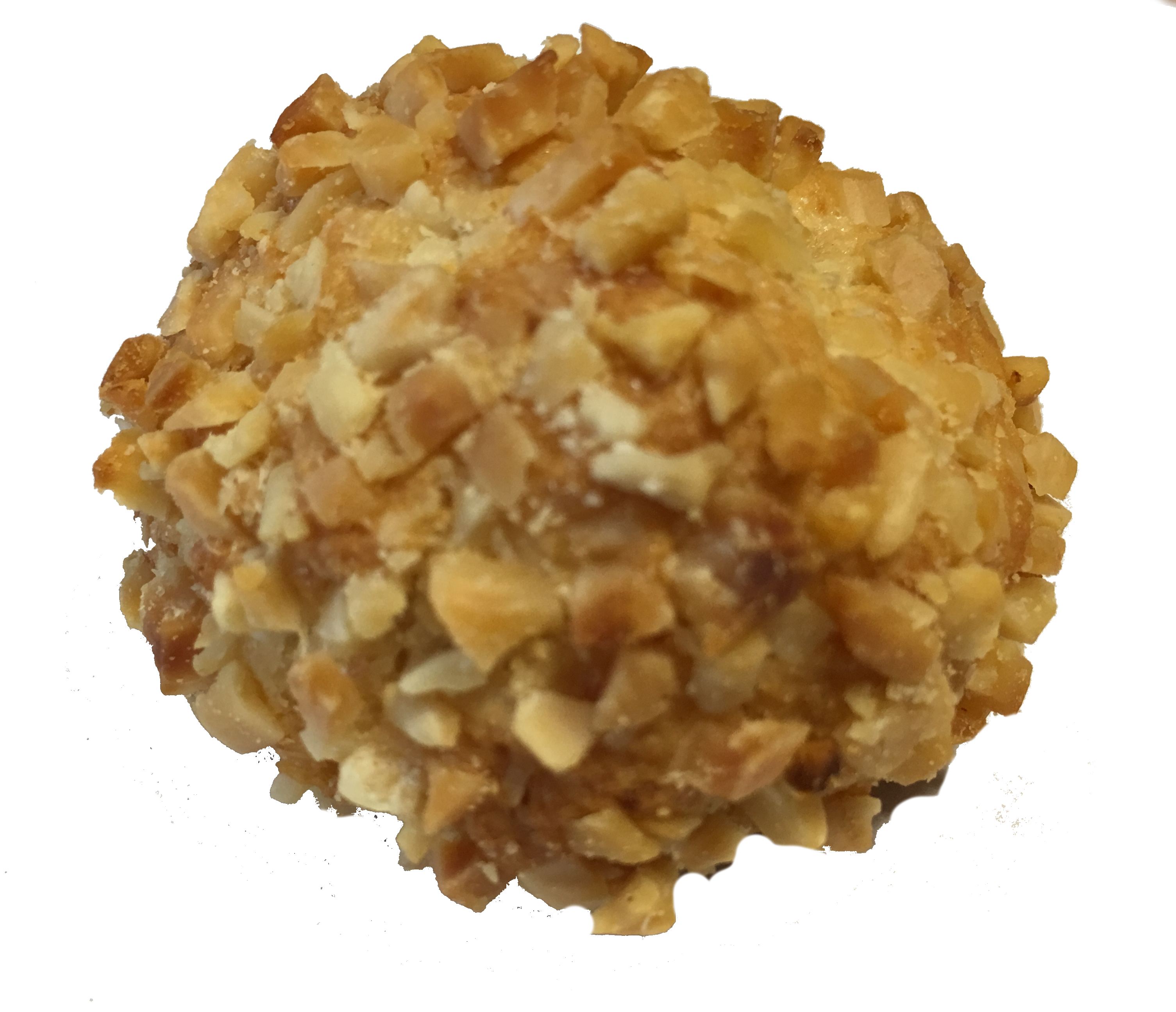Ricoperto con Granella di mandorle - Covered with Almond Granules
