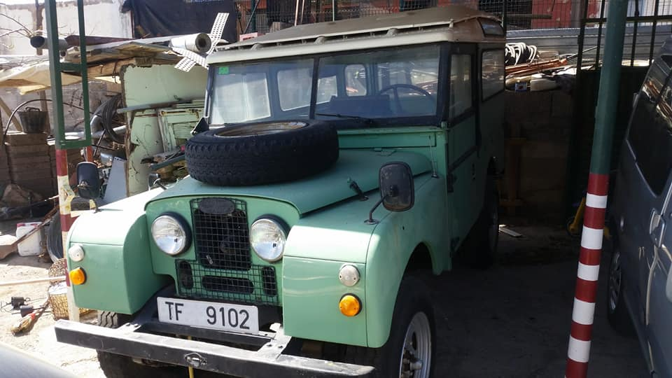 1954 LAND ROVER SERIES 1 LHD