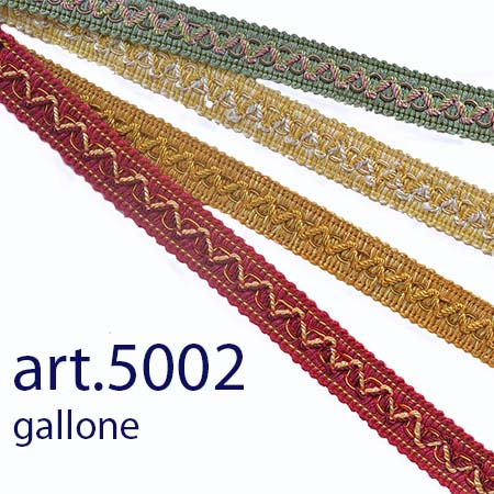 Gallone  h 22 mm circa art 5002