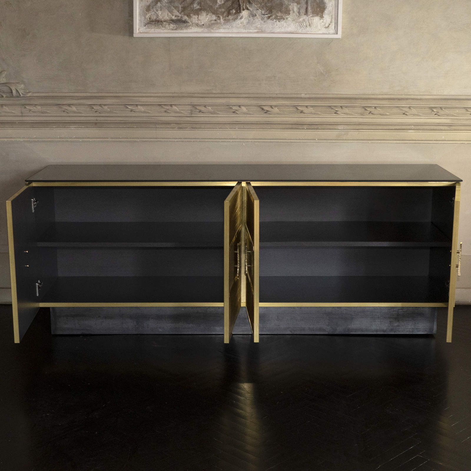Brass Wire Sideboard