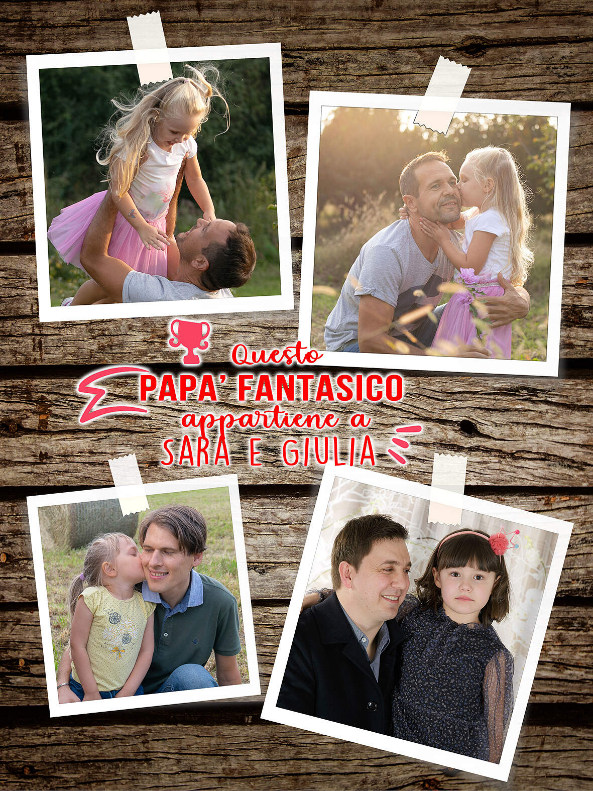 Happy Father's Day - Festa del Papà