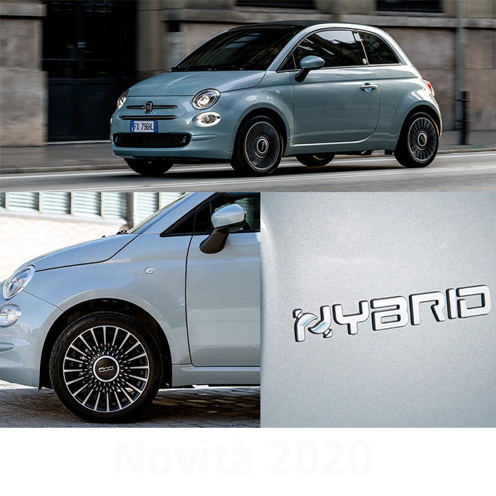 Nuove 500 e 500C Hybrid Launch Edition
